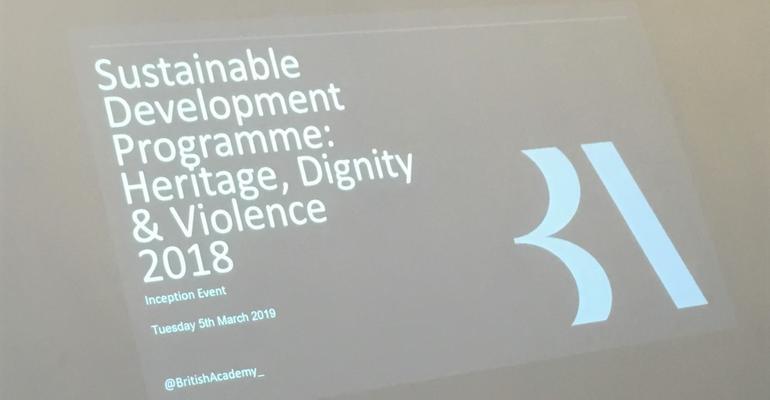 British Academy Launch Information